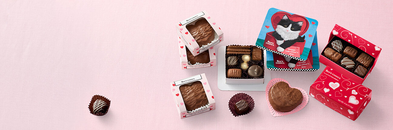 See's Candies Valentine's Fundraising Chocolates
