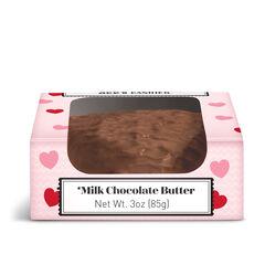 Milk Chocolate Butter Heart View 3