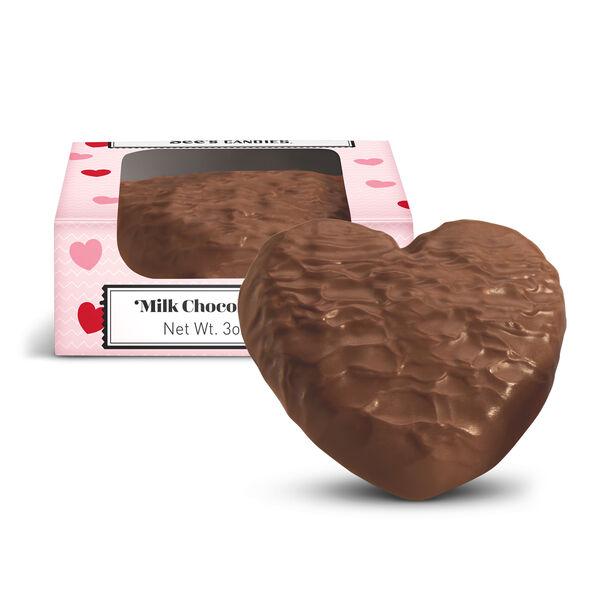 Milk Chocolate Butter Heart