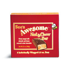 See's Awesome® Nut & Chew Bars View 1