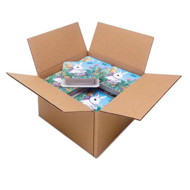 1 Carton (20 boxes) of 4 oz Bunny Hop Box