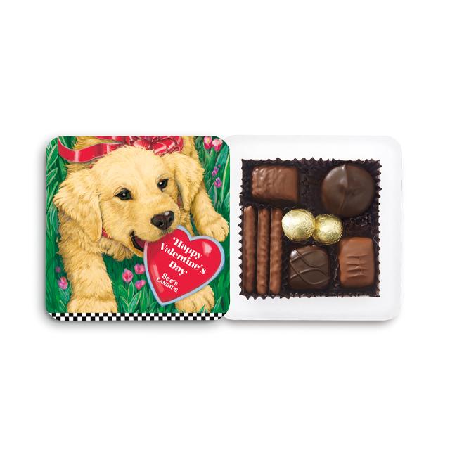 4 oz Labrador Puppy Box