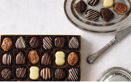See's open box of 1 lb Truffles