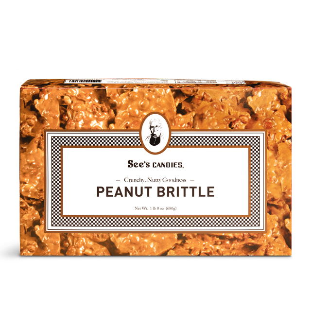 1 lb 8 oz Peanut Brittle