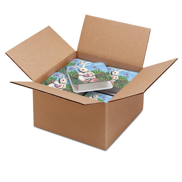 1 Carton (20 boxes) of 4 oz Bunny Artost Box