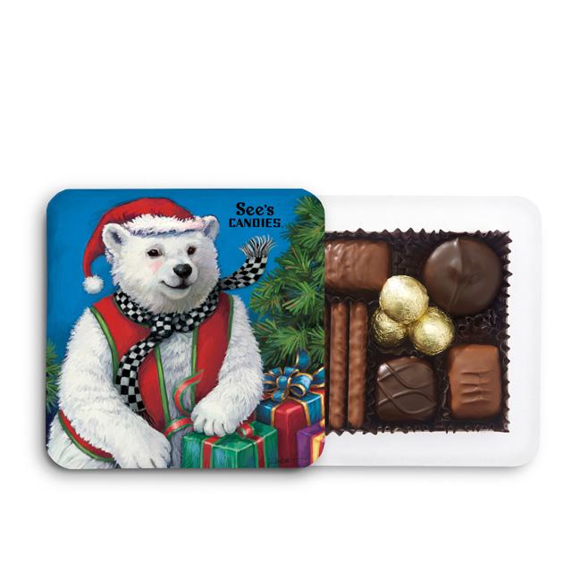 4 oz Polar Bear Box