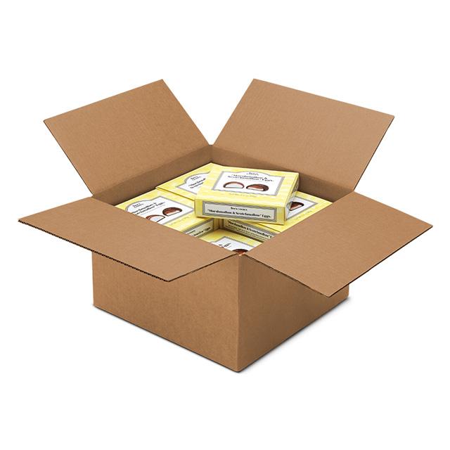 1 Carton (20 boxes) of 3.4 oz Marshmallow & Scotchmallow® Egg