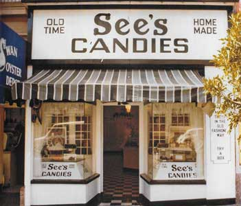See's San Francisco storefront