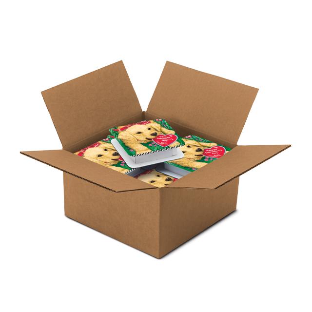 1 Carton (20 boxes) of 4 oz Labrador Puppy Box
