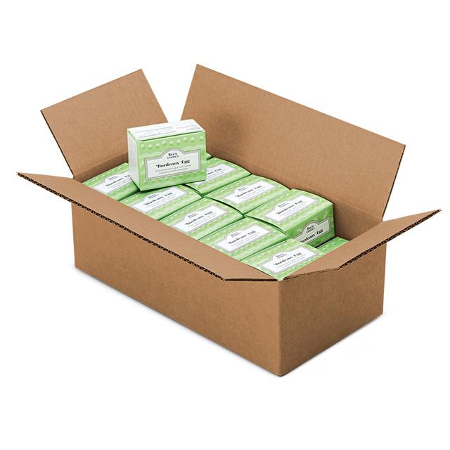 1 Carton (20 boxes) of 3 oz Bordeaux&#8482 Egg