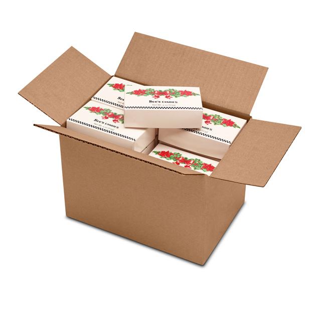 1 Carton (20 Boxes) of 4 oz Mini Merry Assortment