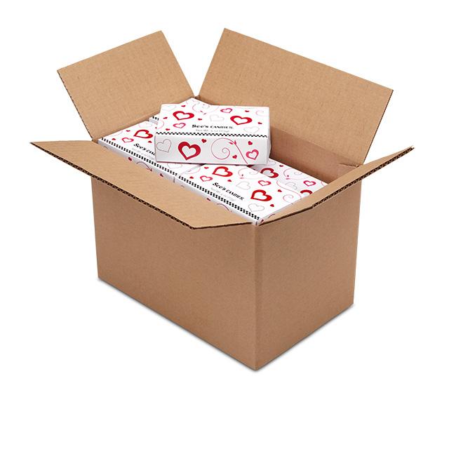 1 Carton (20 boxes) of 4 oz Mini Valentine Assortment