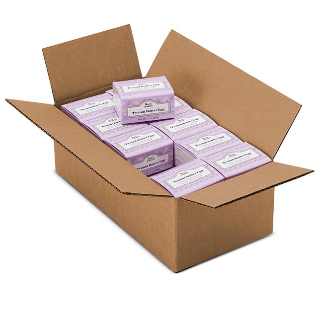 1 Carton (20 boxes) of 3 oz Peanut Butter Egg