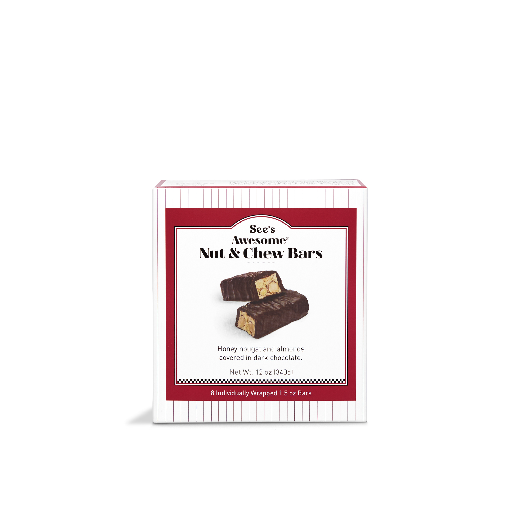 12 oz See's Awesome® Nut & Chew Bars