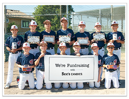 Photograph of Belmont Blasters 11U baseball fundraisers