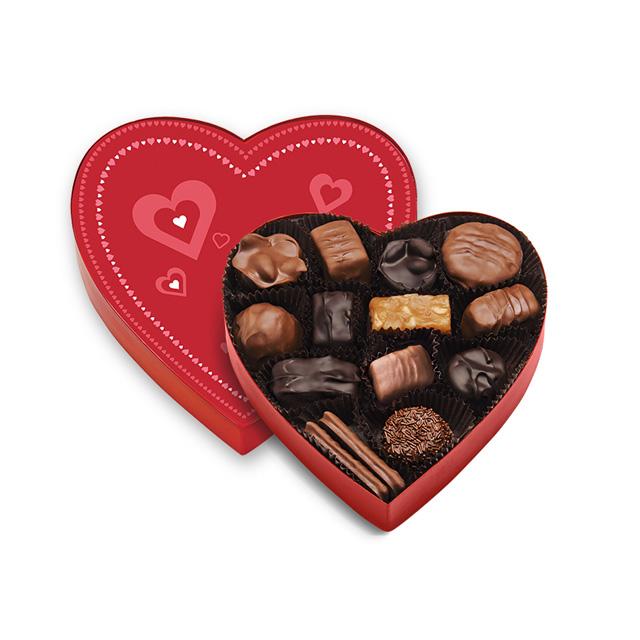 8 oz Valentine Heart