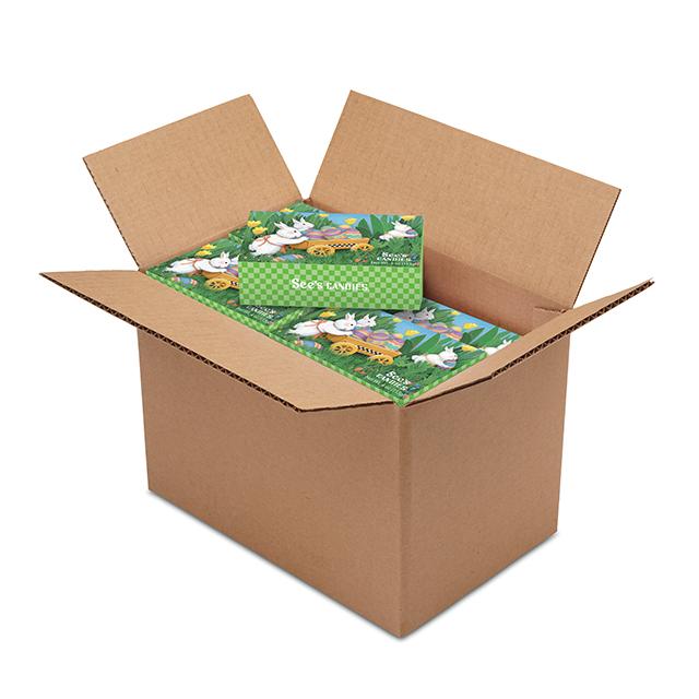 1 Carton (20 boxes) of 4 oz Egg Hunt Box